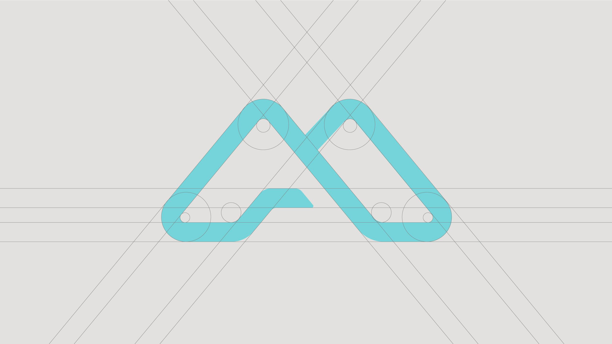 Brand identity design for Advamedica