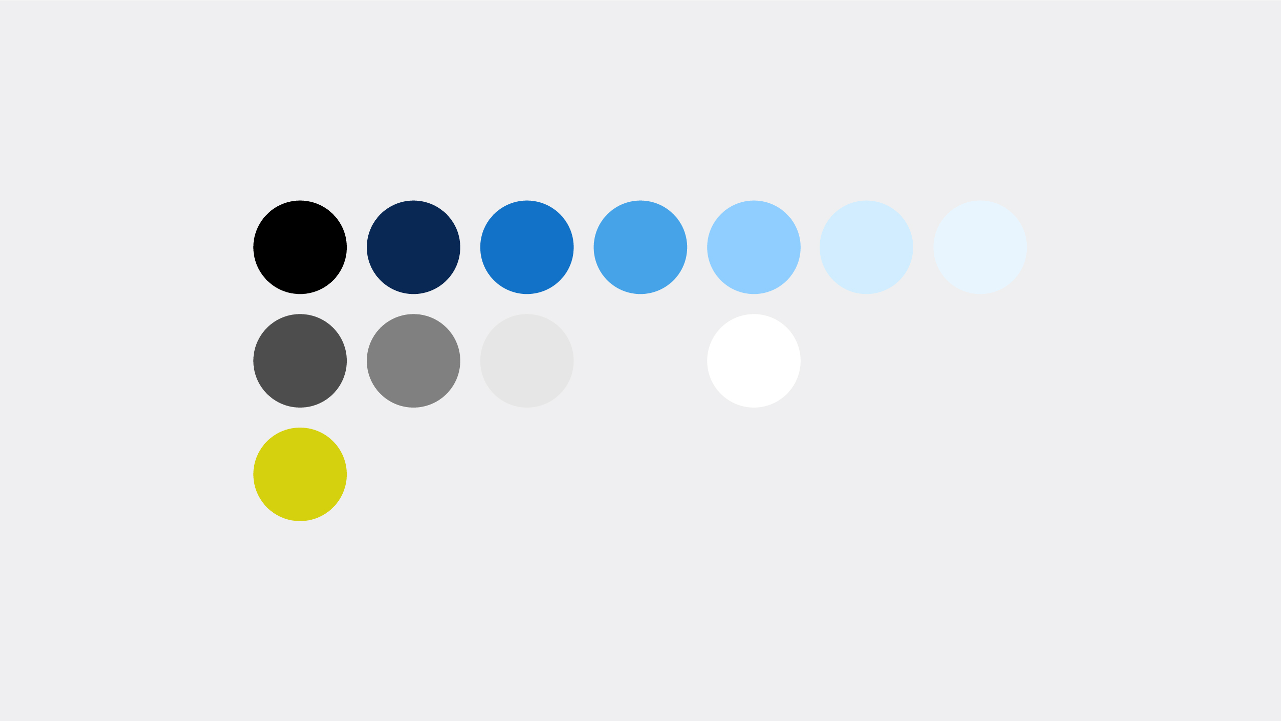 Colour palette definition for consistent branding across brand touch points