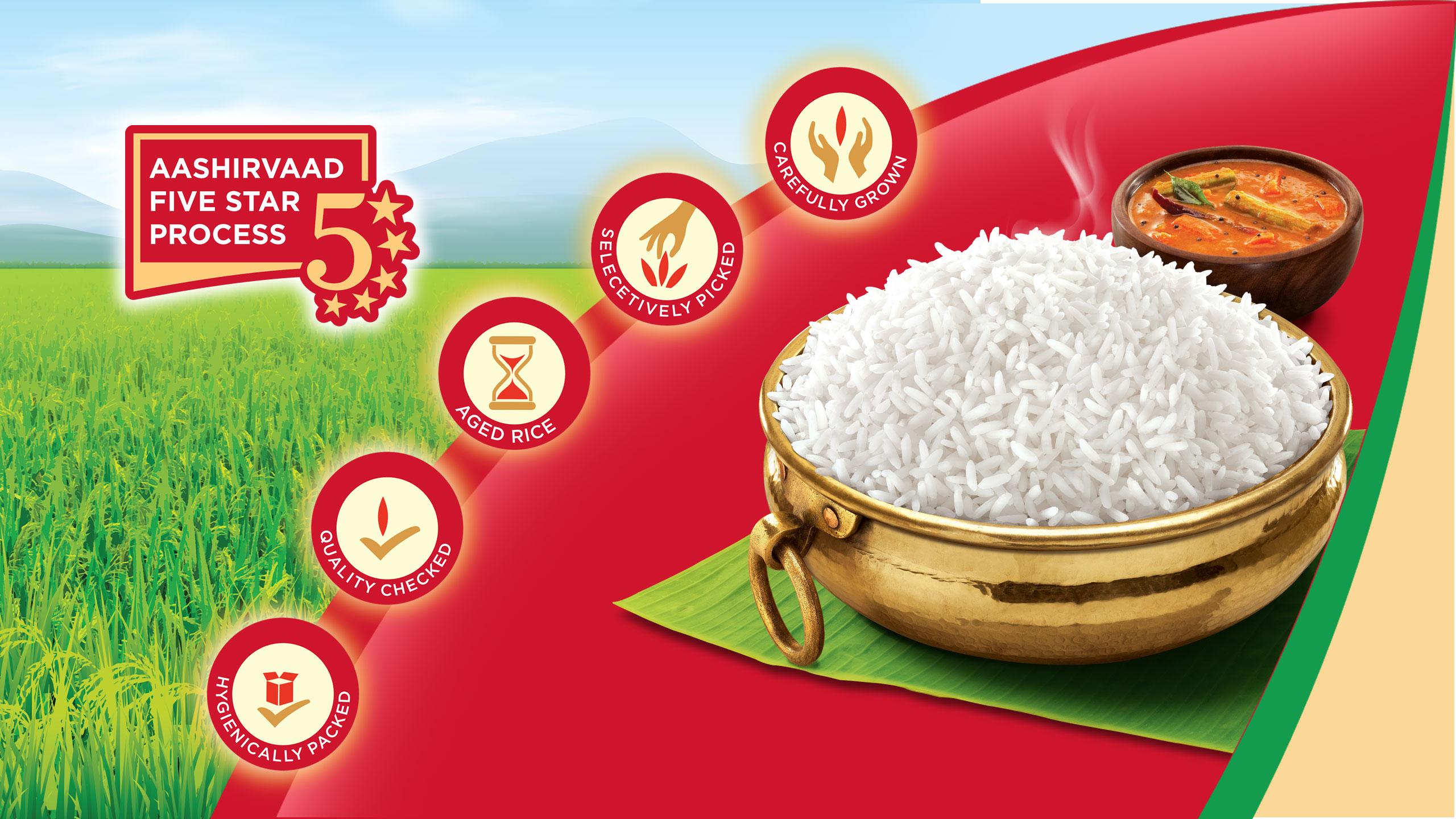 Aashirvaad Rice1