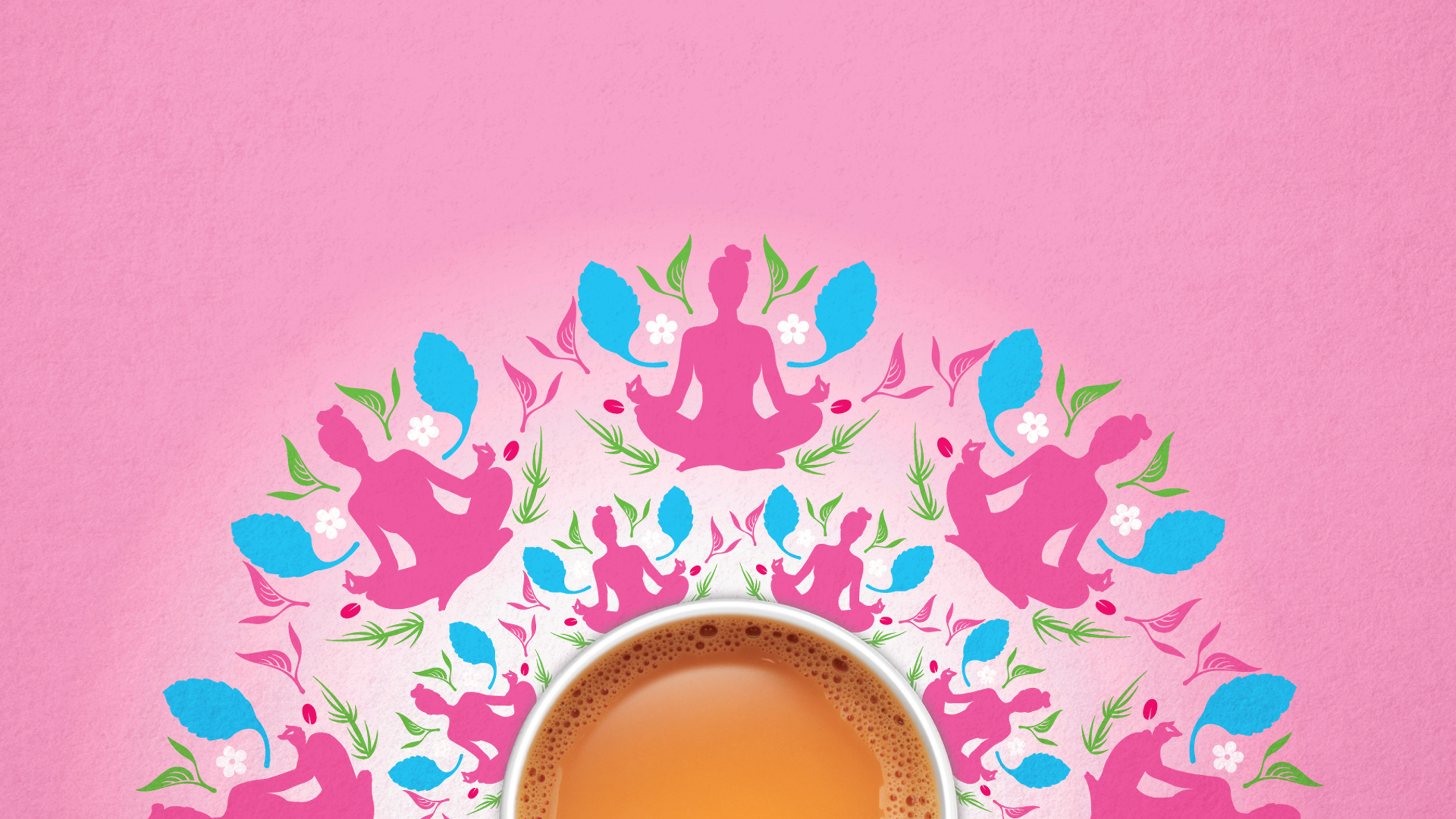 Hip, stylish and memorable strategic brand language development for TATA Tea subrand TATA Tea Veda